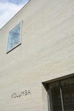 Кёльн, Германия - 14-ое августа 2015: Музей Kolumba: музей изобразительных искусств в Кёльне, Германии Оно расположено на месте б Стоковое Фото