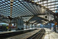 Кёльн Hauptbahnhof (2), Кёльн, Германия Стоковые Фото