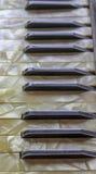 клавиатура аккордеони старая стоковое изображение