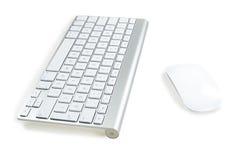 Клавиатура и мышь Стоковые Фотографии RF