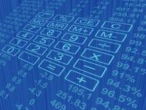 Клавиатура калькулятора Стоковое Фото