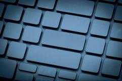 Клавиатура компьтер-книжки отсутствие писем Стоковые Изображения RF