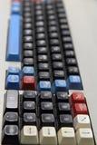 клавиатура компьютера старая Стоковые Фото