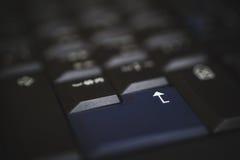 Клавиатура ПК черная Стоковое Изображение RF
