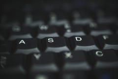 Клавиатура ПК черная Стоковое Изображение