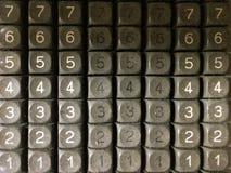 клавиатура старая Стоковое Изображение