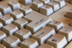 клавиатура старая Стоковая Фотография