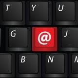Клавиатура с вектором обезьяны символа иллюстрация штока