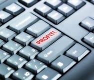 Клавиатура с кнопкой ВЫГОДЫ Стоковая Фотография