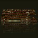 клавиатура фактически Стоковые Фото