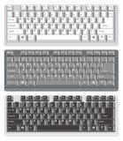 Клавиатуры компьютера Стоковые Изображения RF