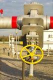 Клапаны газопровода Стоковые Фото