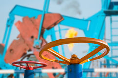 Клапаны масла Стоковая Фотография