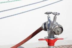 Клапан воды от гидранта Стоковое Изображение RF