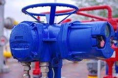 Клапан оборудования газопровода Стоковое Изображение