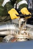 Клапан работника масла поворачивая Стоковые Фотографии RF