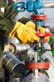 Клапан работника масла поворачивая Стоковые Фото