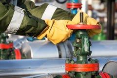 Клапан работника масла поворачивая Стоковое Фото