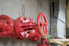 Клапан трубы Стоковое Фото