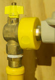 Клапан для впуска горючей смеси Стоковая Фотография RF