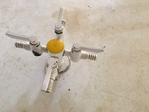 Клапан для впуска горючей смеси Стоковое фото RF
