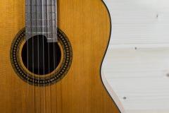 Классика акустической гитары Стоковое Фото