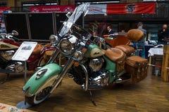 Классика индийского вождя мотоцикла стоковая фотография rf