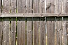 Классика постарела деревянная загородка как текстура предпосылки Стоковые Фотографии RF