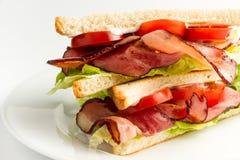 Классика сандвича BLT американская Стоковая Фотография RF