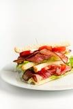 Классика сандвича BLT американская Стоковые Фотографии RF
