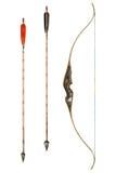 Классика лука и стрелы Стоковая Фотография
