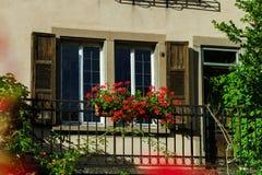 Классика alscien окна с штарками Стоковое Изображение