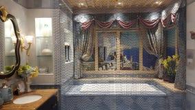 Классицистическая ванная комната Стоковые Изображения
