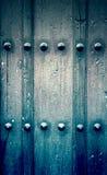 классицистическая дверь деревянная Стоковое Изображение RF