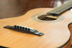 классицистическая гитара детали Стоковые Фото