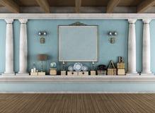 классицистическая комната Стоковое фото RF