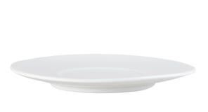 Очистьте одиночную плиту круга Стоковое Изображение RF