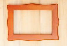классицистическая рамка деревянная Стоковые Фотографии RF