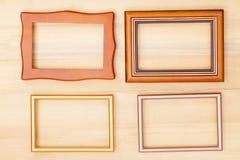 классицистическая рамка деревянная Стоковое фото RF