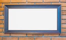 классицистическая рамка деревянная Стоковое Изображение RF
