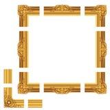 классицистическая рамка Стоковое Изображение