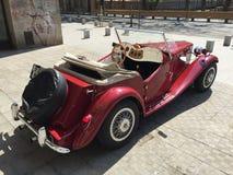 Классицистический автомобиль спорт MG Стоковая Фотография