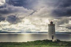 классицистический маяк Стоковое Изображение RF