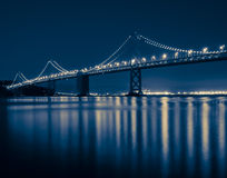 Классицистический мост San Francisco Bay Стоковое Фото