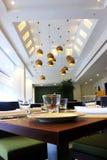 классицистический ресторан Стоковые Изображения RF