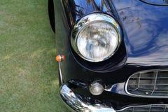 Классицистический роскошный фронт автомобиля спорт Феррари Стоковое Изображение RF