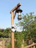 классицистический светильник Стоковое Изображение