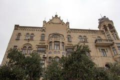 классицистический фасад Стоковые Фотографии RF