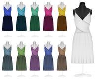 классицистическое платье бесплатная иллюстрация