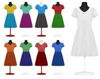 классицистическое платье иллюстрация штока